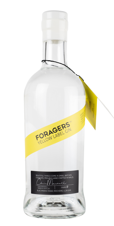 Forager\'s Yellow Label Gin - 42% 70cl