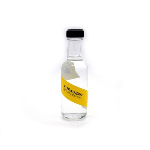 Foragers Yellow Label Gin Miniature - 42% 5cl